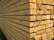 Балки деревянные. 6м,  7м,  8м,  9м.