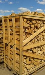 Продаем колотые дрова из лиственных пород древесины.