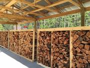 Закупаем дрова колотые лиственных пород | экспорт