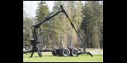 Лесовозная техника PALMS прицеп 10D и манипулятор 4.70