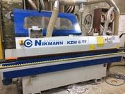 Продам кромко-облицовочный станок с приподфуговкой KZM 6TF б/у 12.2015 г.в.