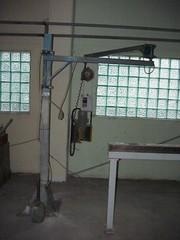 21-29-003 Ручной шлифовальный станок HSM (с подставкой и контравесом)